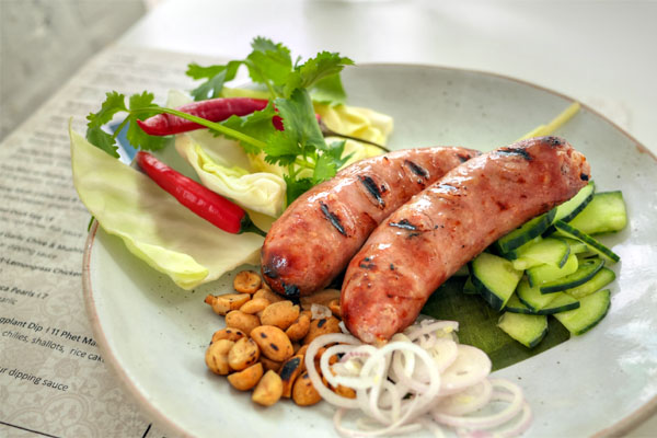Sai Grok / Grilled House Made Sour Isaan Sausage
