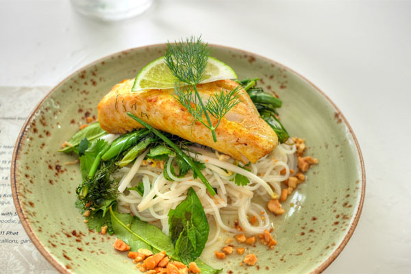 Cha Ca La Vong / Sablefish will Dill & Turmeric