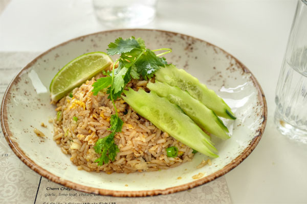 Khao Phat Puu / Blue Crab Fried Rice