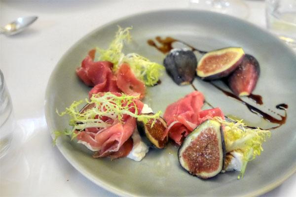 figs + prosciutto