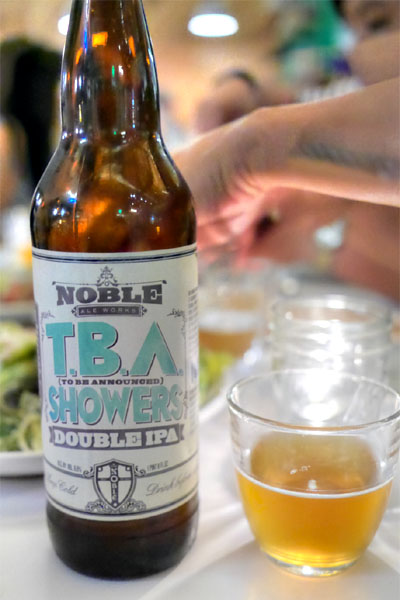 Noble Ale Works TBA Showers