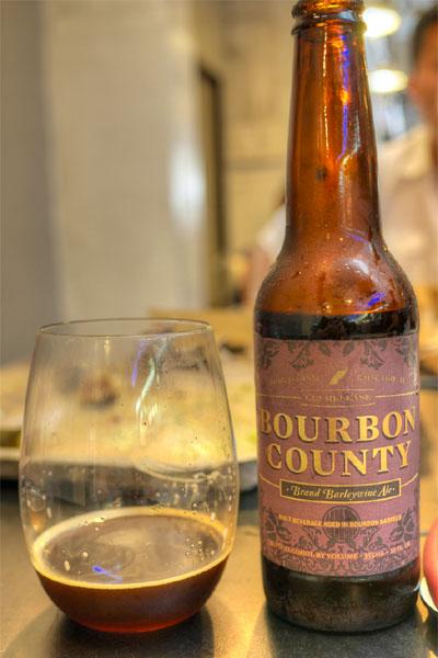 2013 Goose Island Bourbon County Brand Barleywine