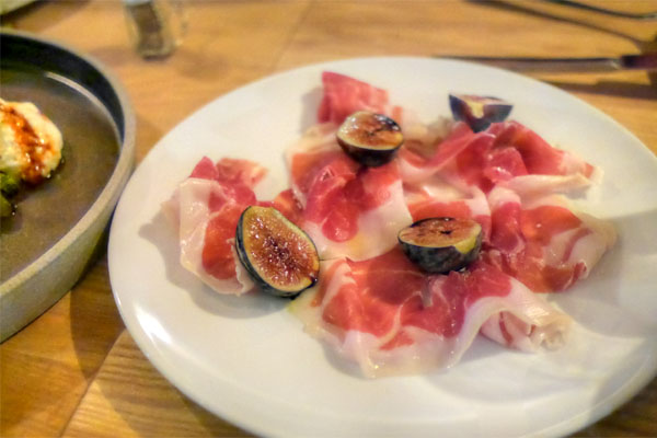 Ham with Figs