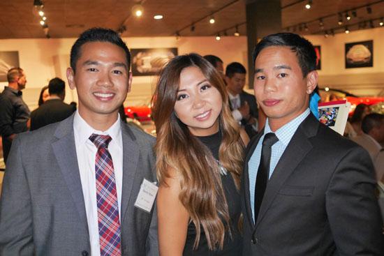 Darrel Alfonso, Lily Tran, Phil Alfonso
