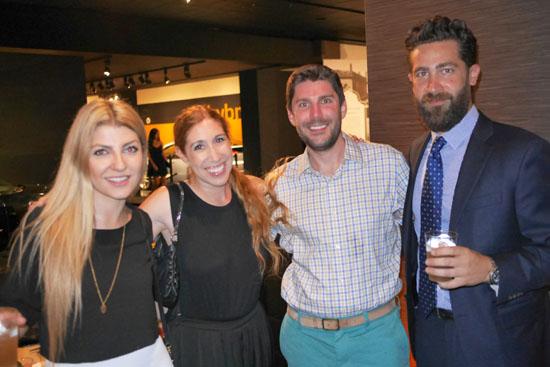 Aleksandra Baranova, Elise Freimuth, Andrew Cosgrove, Alex Melelian