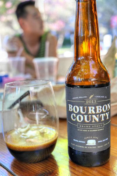 2013 Goose Island Bourbon County Brand Stout
