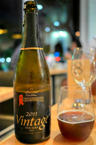 2011 Rodenbach Vintage Ale)