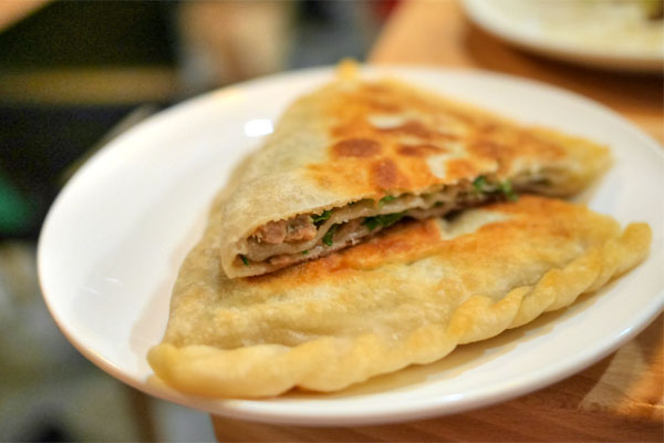 Layered Pork Pancake