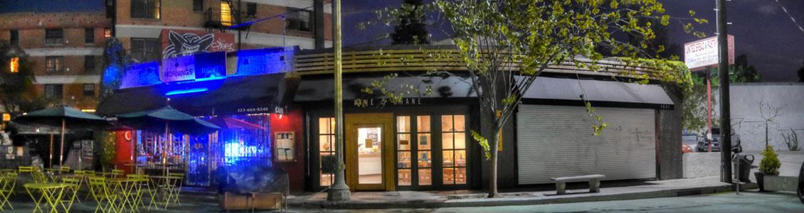 Pine & Crane Exterior