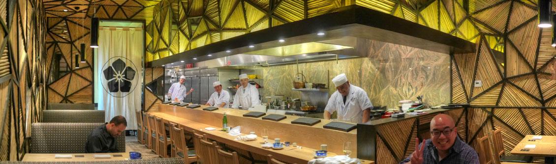 Sushi Tsujita Interior