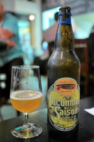 2014 Cigar City Cucumber Saison
