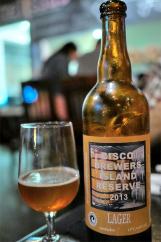 2013 Cisco Island Reserve Oak Aged Bohemian-Vienna Style Lager