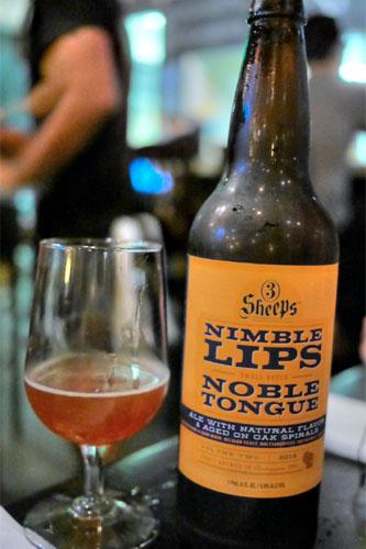 2014 3 Sheeps Brewing Nimble Lips, Noble Tongue Volume 2