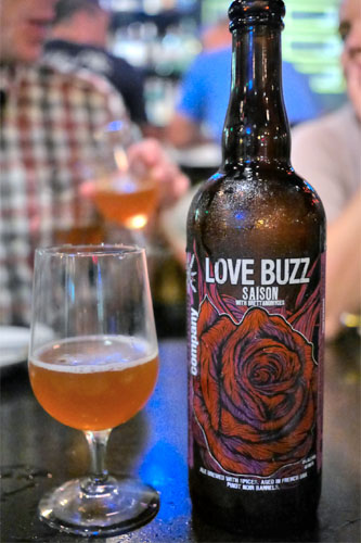 2014 Anchorage Brewing Love Buzz Saison