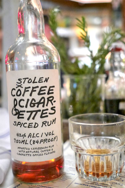 Stolen Coffee & Cigarettes Spiced Rum