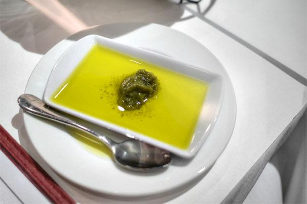 Olive Oil & Pesto
