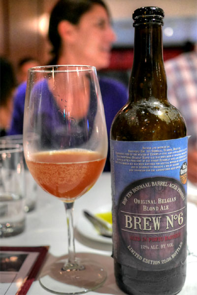 2012 Brouwerij Hof Ten Dormaal Barrel-Aged Project Brew No. 6 - Porto