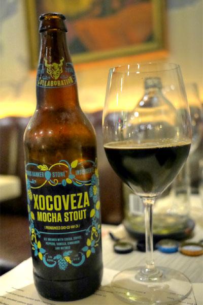 2014 Stone Brewing Chris Banker/Insurgente Xocoveza Mocha Stout
