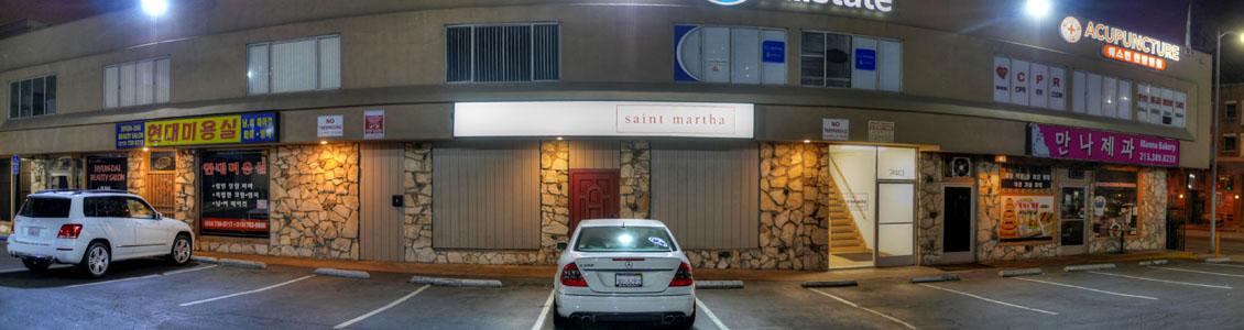 Saint Martha Exterior