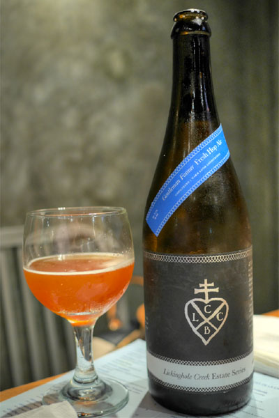 2013 Lickinghole Creek Gentleman Farmer Estate Hop Ale