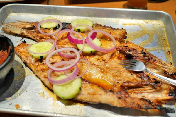 pescado zarandeado