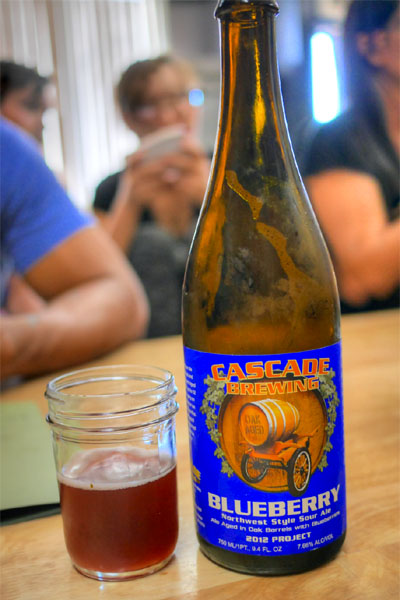 2012 Cascade Blueberry Ale