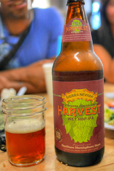 2014 Sierra Nevada Northern Hemisphere Harvest Wet Hop Ale