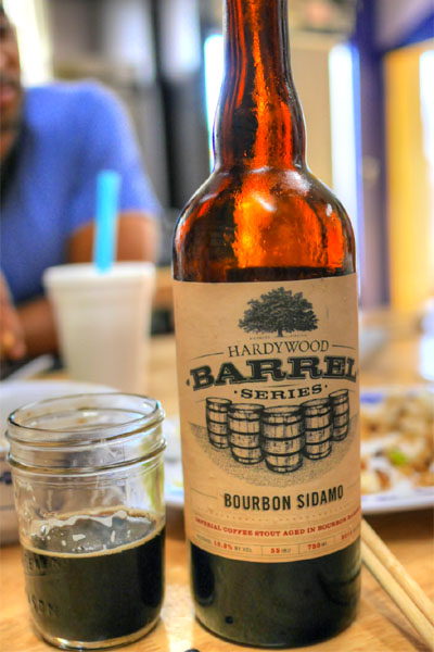2014 Hardywood Bourbon Sidamo Coffee Stout