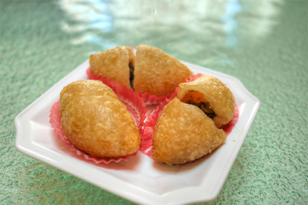 Deep Fried Pork Dumpling