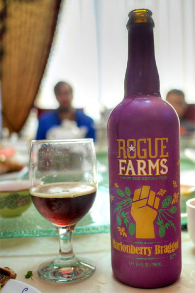 2014 Rogue Farms Marionberry Braggot