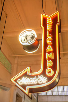 Belcampo Meat Co Sign