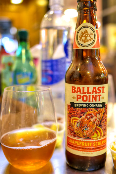2014 Ballast Point Grapefruit Sculpin