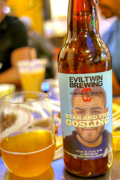 2014 Evil Twin / Crooked Stave Ryan And The Gosling