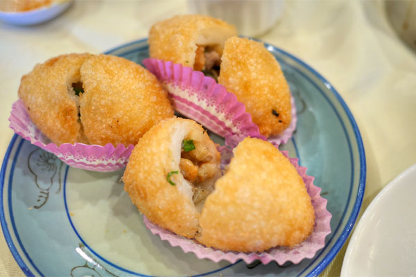Fried Minced Pork Dumpling