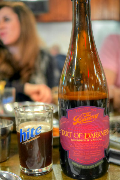 2014 The Bruery Tart of Darkness with Cherries & Vanilla
