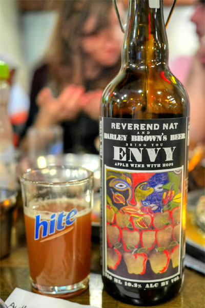 Reverend Nat's Envy