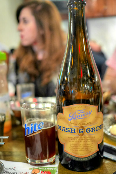 2013 The Bruery Mash & Grind