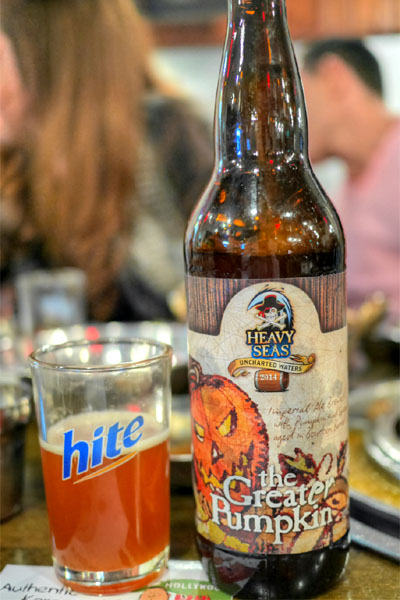 2014 Heavy Seas The Greater Pumpkin