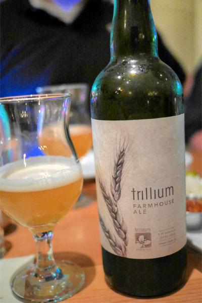 2014 Trillium Farmhouse Ale