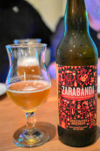 2014 Deschutes Zarabanda