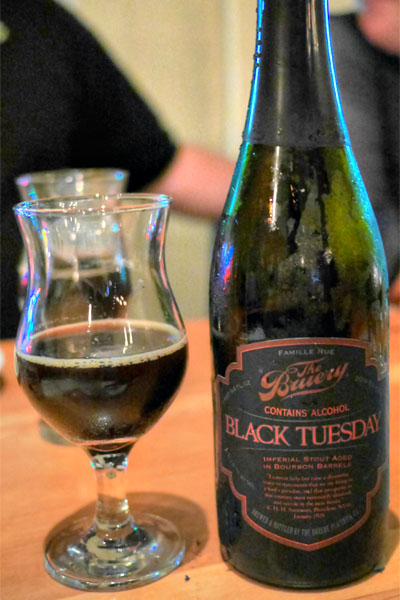 2014 The Bruery Black Tuesday