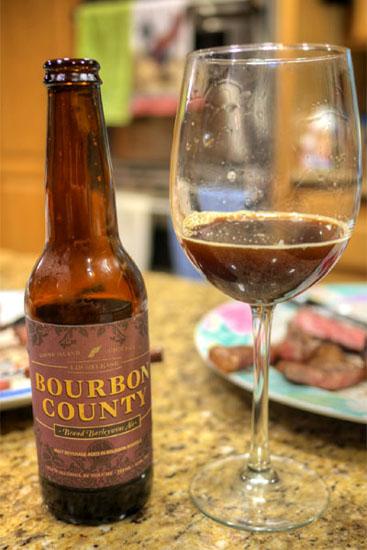 2014 Goose Island Bourbon County Brand Barleywine Ale