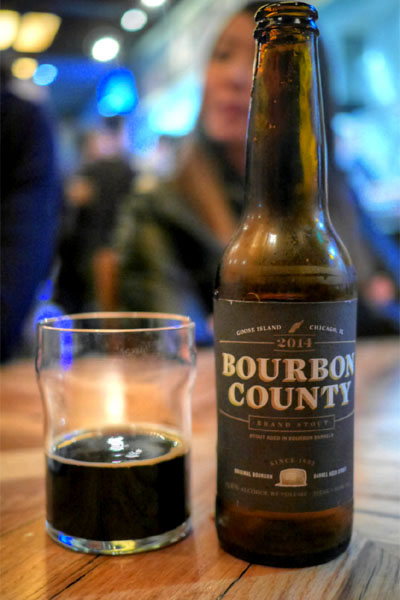 2014 Goose Island Bourbon County Brand Stout - 13.8%