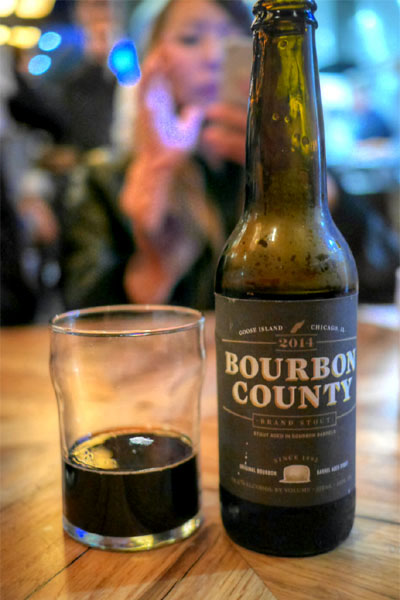 2014 Goose Island Bourbon County Brand Stout - 14.4%