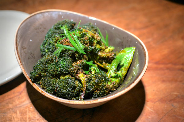 Broccoli, soy, brown sugar, malt, chilies