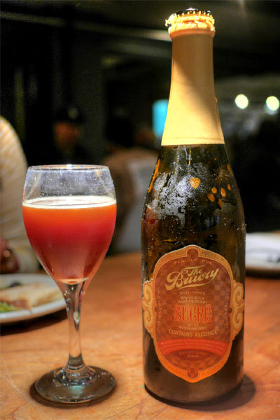 2014 The Bruery Sucre