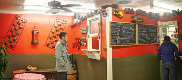 Robert Earl's BBQ Ordering Area