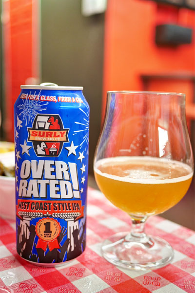 2014 Surly Overrated West Coast IPA