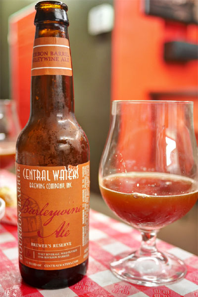 2014 Central Waters Bourbon Barrel Barleywine Ale