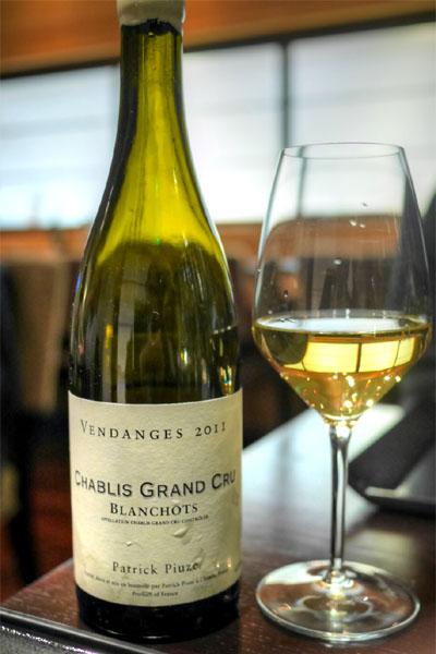 2011 Patrick Piuze Chablis Grand Cru Blanchot
